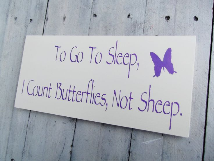 "butterfly baby room | Butterfly Nursery Theme, Art, baby girls woodland art ""To go to sleep ..."
