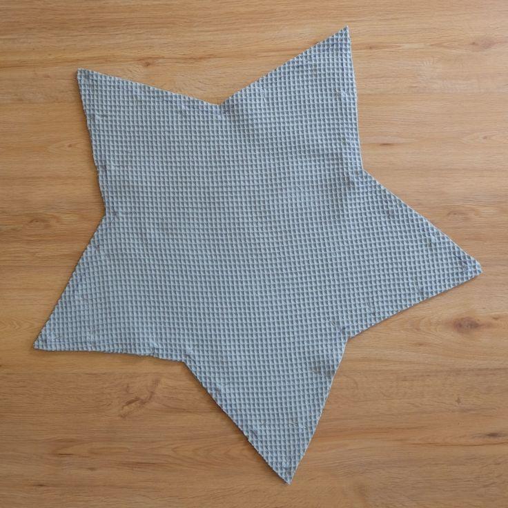 DIY Anleitung Sternenkissen Kuschelkissen selbstnähen   – Nähen