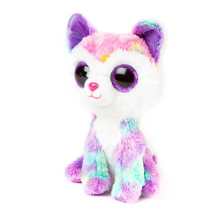 "<P>Rub my ears and pet my head, I will ride the paths, you steer the sled!</P><P>Izabella is an adorable pastel colored Husky dog with big glittery purple eyes. Part of the Ty Beanie Boos collection. Collect them all!</P><UL><LI>Birthday: April 3rd<LI>6""H<LI>Plush</LI></UL>"