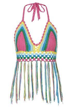 **Bustier en crochet, Glamourous