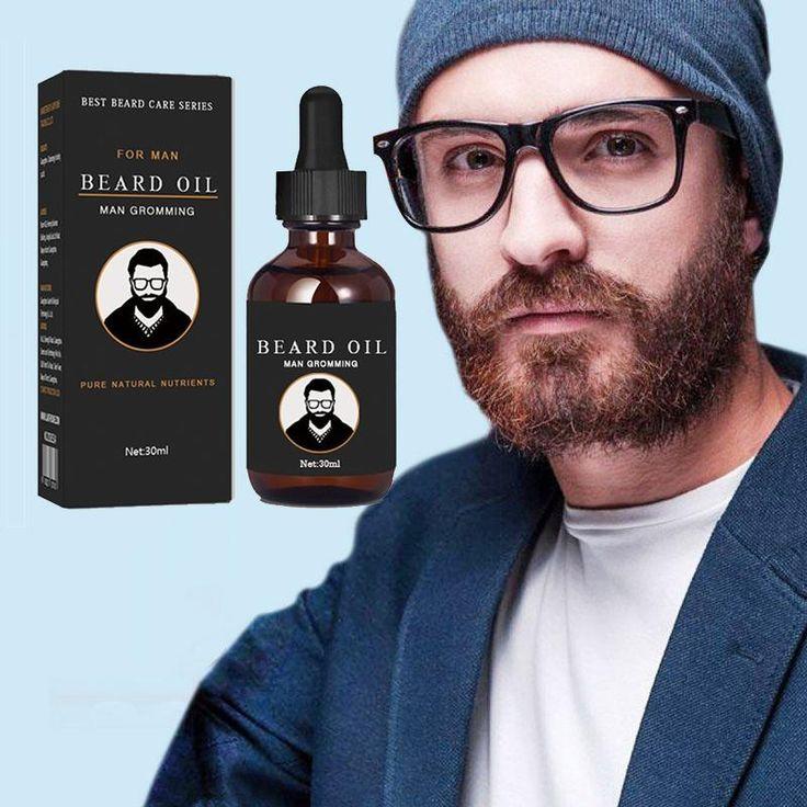 Beard Hair Beard Growth Thicker Essence Oil For Men Shape Beards Grooming Beard Growth Products Vitamin Serum Liquid 30Ml