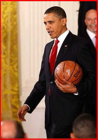 Wonder if your as bad at basketball as you r at president?