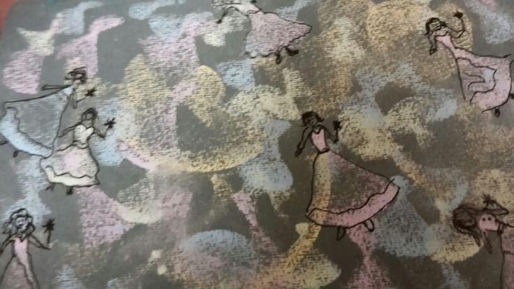 Dancing chalk fairies