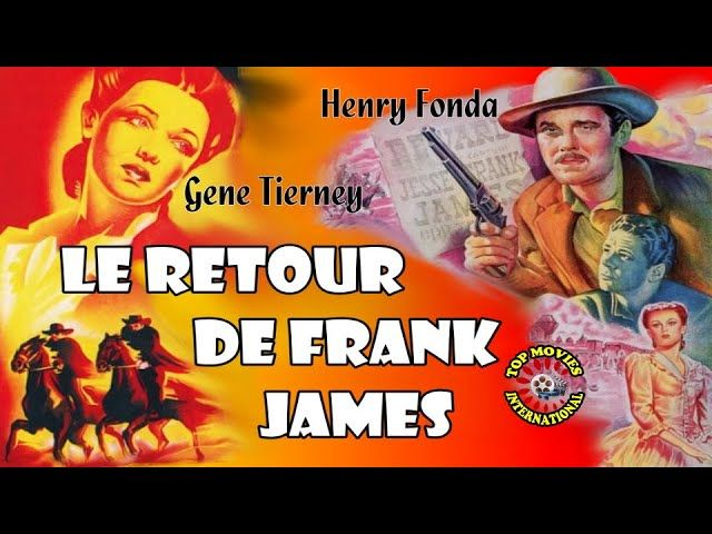 Le Retour De Frank James Film Western Complet En Francais Comic Book Cover Henry Fonda Comic Books