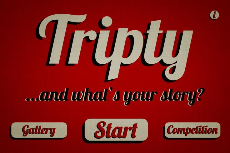 Tripty / homescreen