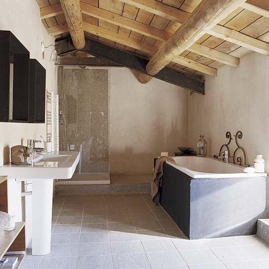 Salle de bains | Française convertie grange maison tournée | Visite guidée…
