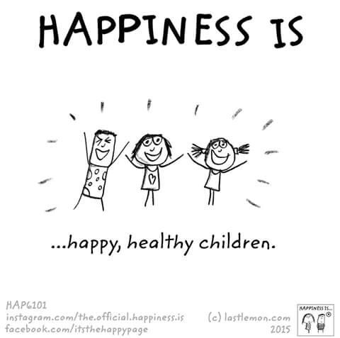 Happiness is.... Happy, healthy children ❤️ #lucky #blessed #grateful
