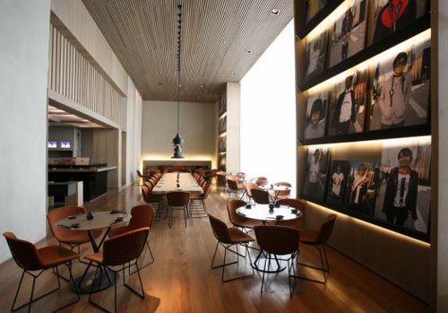 Modern Restaurant Design - The Sushi Bar of Kosushi Restaurant