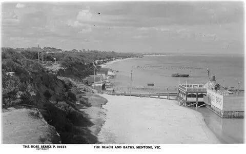Mentone Beach and Baths