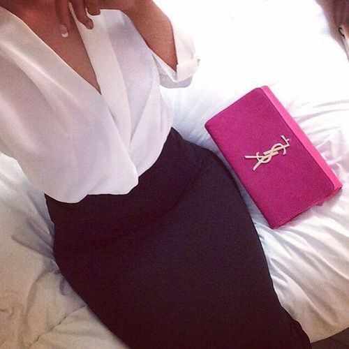 Image via We Heart It #fashion #girl #outfit #style #YSL