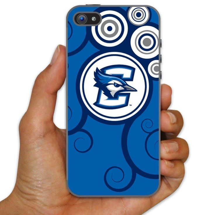 Creighton University Clear Plastic Slim Case for iPhone 5c - Swirl
