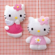 For Betsy - who wants Hello Kitty decorations on her Christmas tree this year :)