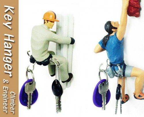Rock Climber Key Holder | Craziest Gadgets