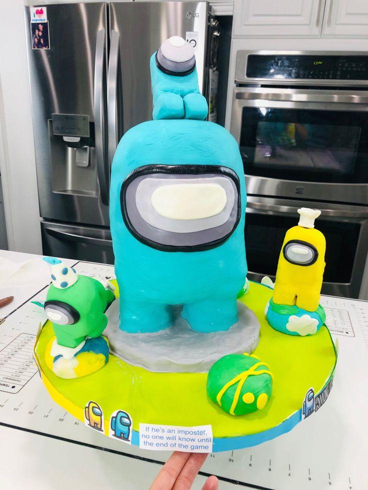 35+ Among us cake for girl trends