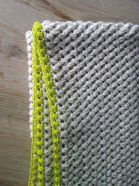 Couverture laine, jaune
