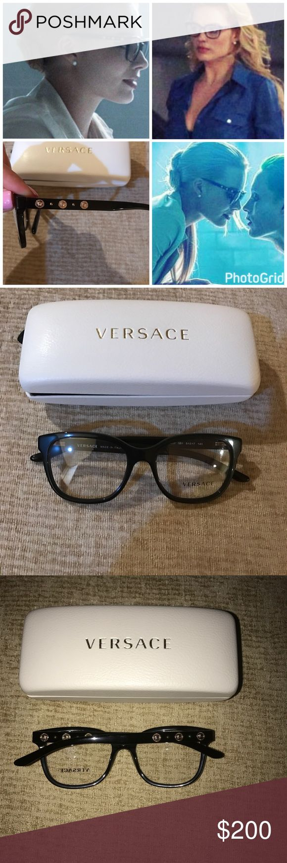Versace Harley Quinn Margot Robbie glasses 3203 These Are the glasses Margot Robbie wears in suicide squad when she is Dr. Quinzel. Brand new. Glass lenses Versace Accessories Glasses