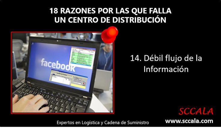 14. Débil flujo de la Información