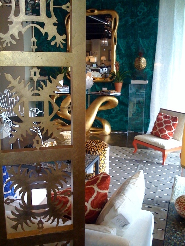 Loved This Room in the Mansion Christmas House Jim Thompson Fabrics