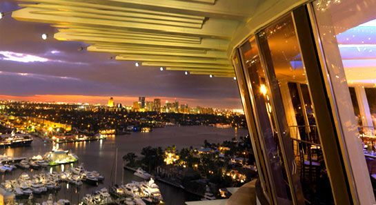 Went to a Rotating Restaurant - Pier 66 Fort Lauderdale ...