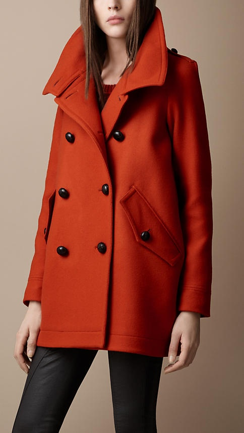 Burberry - Funnel Collar Cocoon Coat