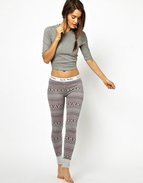 Jack Wills Hastelow Lounge Leggings. Fair isle print.   More leggings...