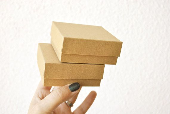 20 Boxes with lid I Small jewelry boxes with lid by FunkyBoxStudio