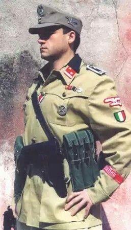 Italian Waffen SS uniform, pin by Paolo Marzioli
