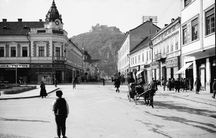 My hometown Deva in 1942