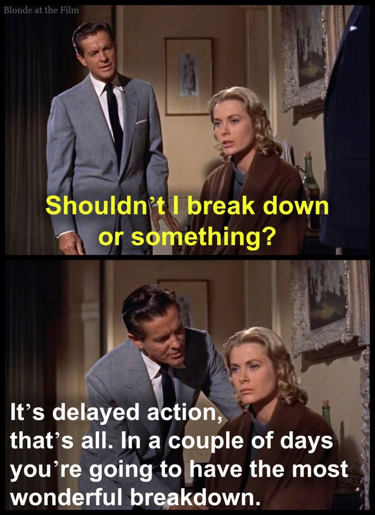 Dial M for Murder: Robert Cummings and Grace Kelly