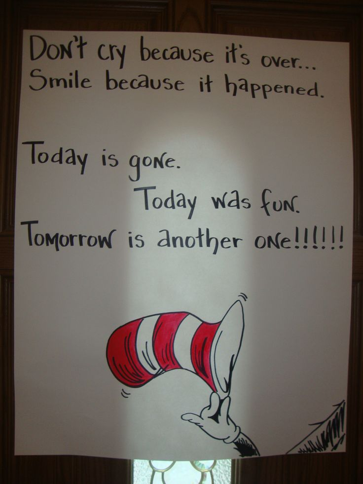 Goodbye Poster Dr Seuss Birthday Party Pinterest