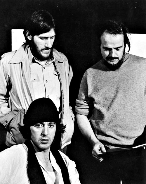 Al Pacino with Paul Benedict and another unidentified actor