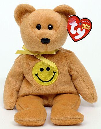 Dimples - bear - Ty Beanie Babies
