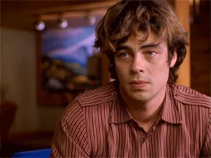 Benicio del Toro Excess Baggage/1997