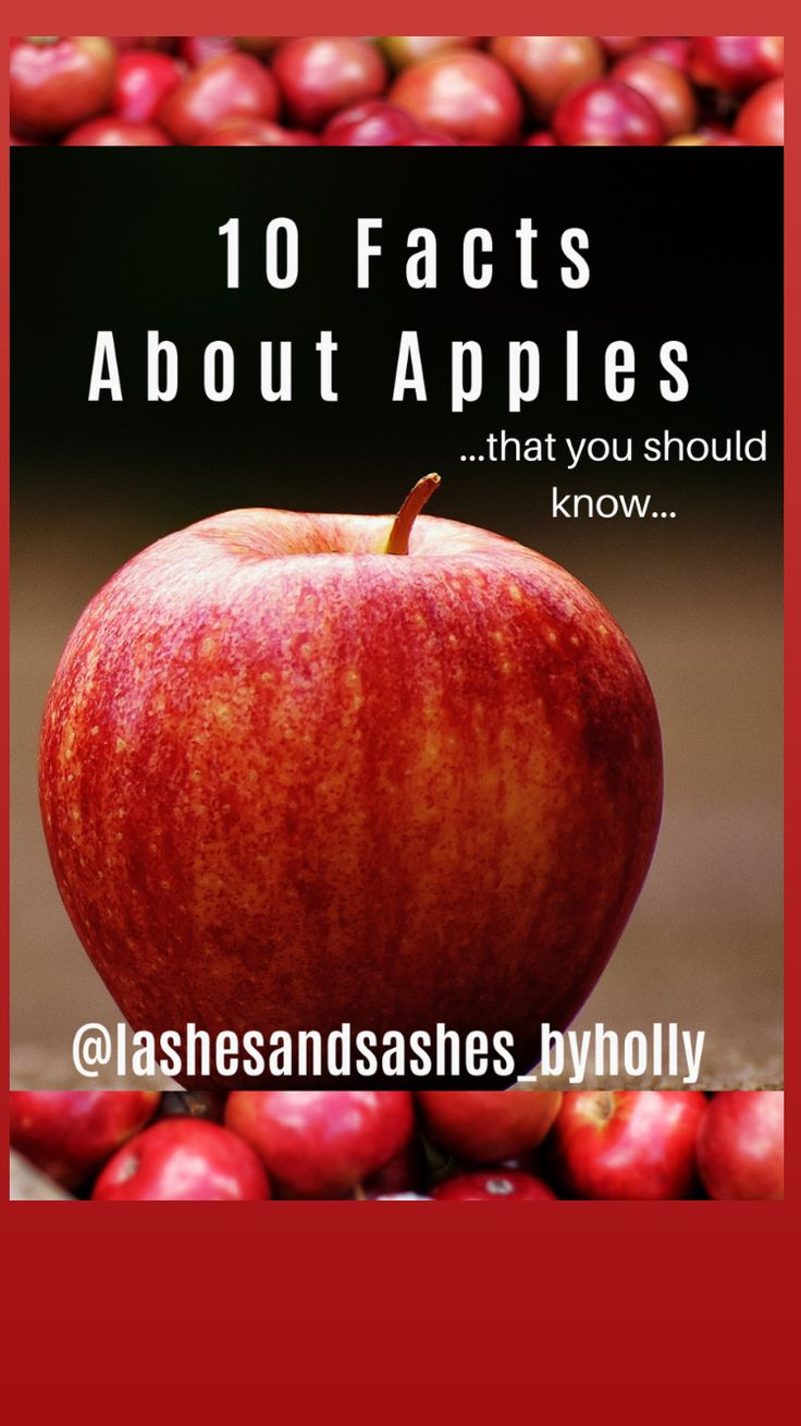 10 fun facts about apples + aplle taffy pizza in 2020
