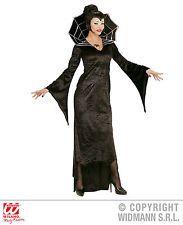 Kostüm Spiderella Vampirfrau Kleid Halloween Spinnenfrau Vampir schwarz Gr. M