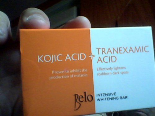 Belo Kojic Acid +Tranexamic Acid Whitening Soap 65g ** ADDITIONAL DETAILS @ http://www.sheamoistureproducts.com/store/belo-kojic-acid-tranexamic-acid-whitening-soap-65g/?a=7192