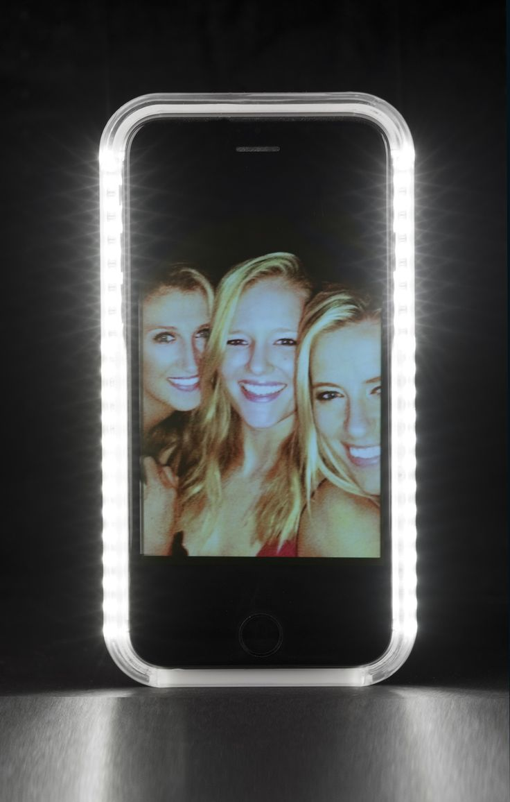 The LuMee case is a smartphone case that has LED lighting on both sides, giving you a soft and beautiful light for every occasion! Great for selfies and video chatting!
