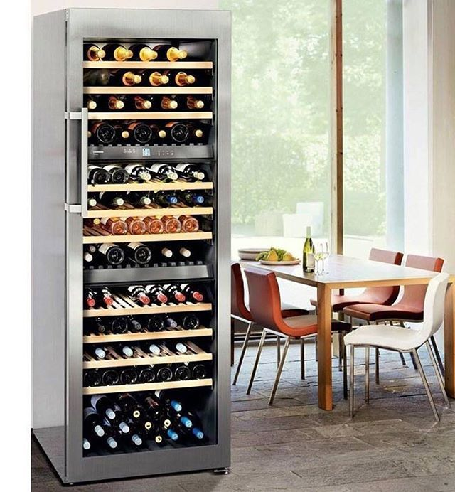 @liebherrhomeus wine storage cabinets are similar to wine cellars by creating ideal climate conditions for in bottle ageing! A constant temperature is maintained throughout the cabinet interior making them ideal for long-term storage and for the ageing of fine wines. . . . . .#eurolineappliances #liebherrappliances #liebherr #refrigerator #europeandesign #homedecor #luxurydesign #quality #innovation #appliances #highquality #decor #homeaccessories #interiordesign #homedesign #modern #sleek