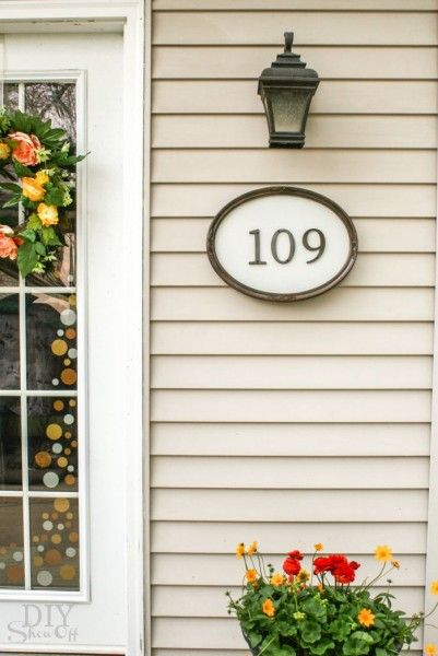 Today marks the end of my Summer Spectacular series! .... but the summer wouldn't be complete without a guest post from Roeshel at The DIY Show Off - See her step by step guide for this easy DIY house numbers project.