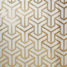 cream drapes with gold geometric pattern - Google Search