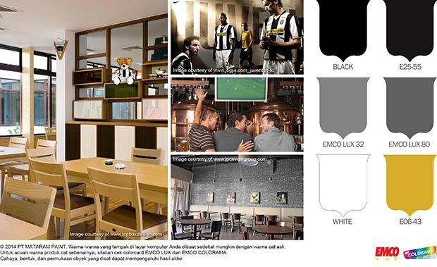 Kafe Ala Tim Juventus! #Trend #Lifestyle http://matarampaint.com/detailNews.php?n=116