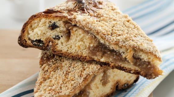 Баркад, осетинский фруктовый пирог