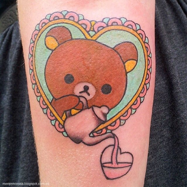 RIlakkuma tattoo by Meri  http://meriprincesita.blogspot.com.es/