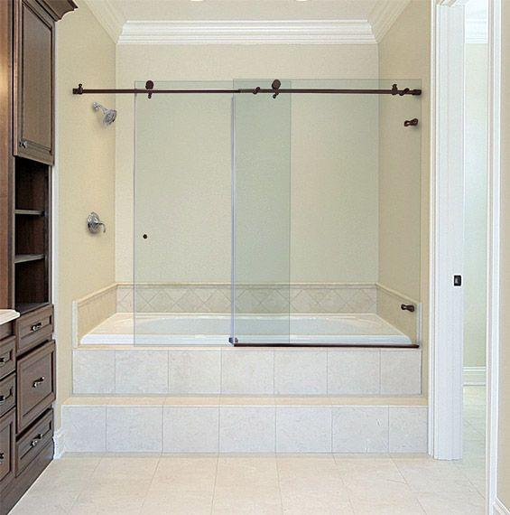 Metro Sliding Bathtub Doors   Dulles Glass