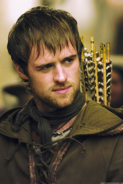 robin hood -- jonas armstrong I LOVED this show!! Cried like a baby at the series finale....this show needed more recognition for how awesome it was. Not to mention that the actor who plays Thorin in the Hobbit, Richard Armitage, plays the bad guy. (swoons)