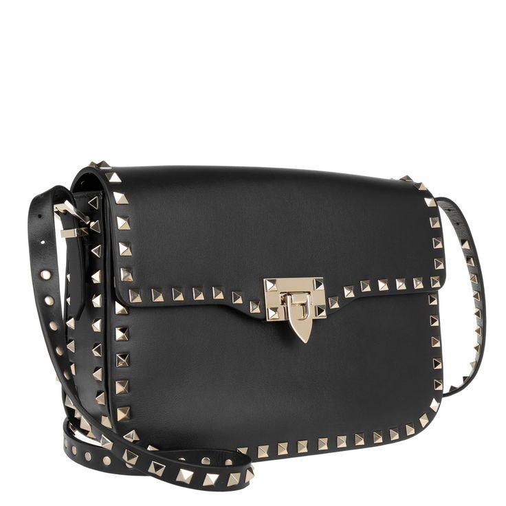 Valentino Rockstud Shoulder Bag Black bei Fashionette