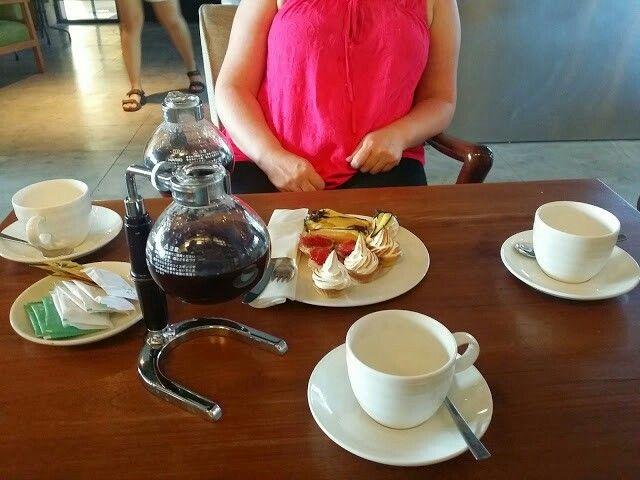 Afternoon tea at fontana hotel