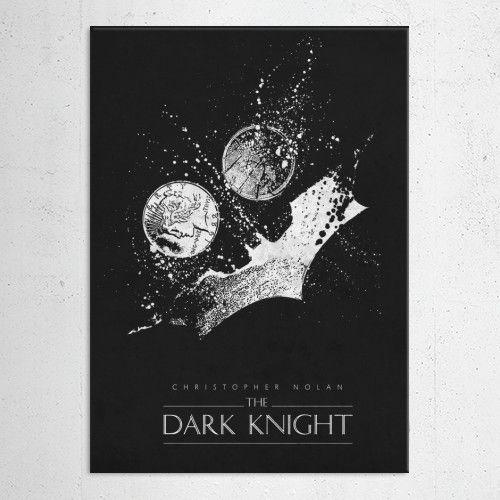 batman the dark knight superhero dc comics universe classic classical movie movies poster posters black joker christopher nolan Movies & TV
