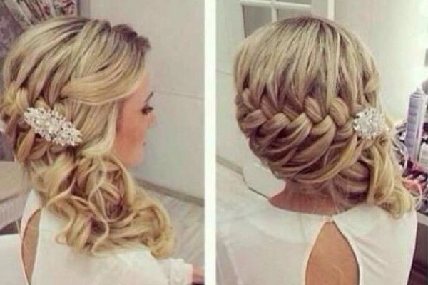braided wedding hairstyles 6 loose side