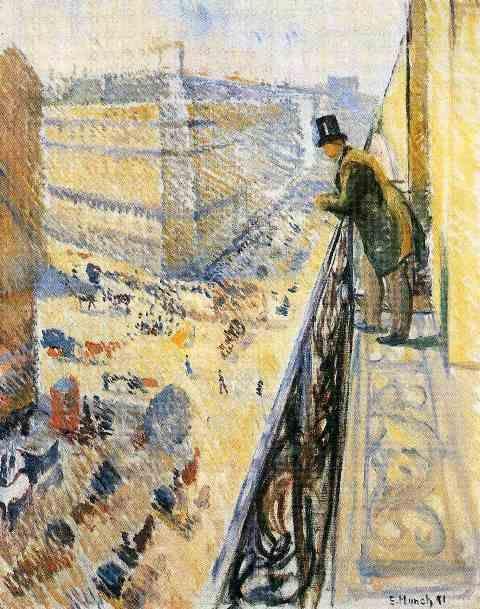 Edvard Munch - Rue Lafayette - 1891 http://www.arteeblog.com/2015/09/a-historia-inspiracao-e-o-local-da.html